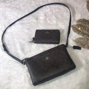 Crossbody bag & wallet